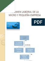 REGIMEN LABORAL DE LA MICRO Y PEQUEÑA EMPRESA