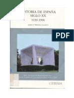 Historia de España. Siglo XX. 1939-1996 Varios Autores