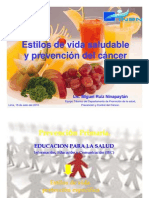 Estilos de Vida Saludable - Cancer