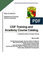 CDFCourseCatalog