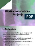 Rijetka metabolička oboljenja seminarski