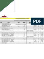 Especificaciones de Equipos de Planta Contonga