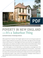 Poverty in New England