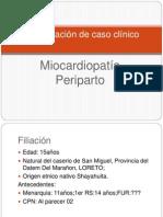 Presentación de caso clínicoMCPP