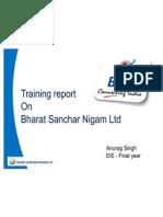 BSNL ppt by anurag