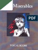 (Conductor's Score) Les Miserables