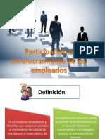 Participación o Involucramiento de los empleados