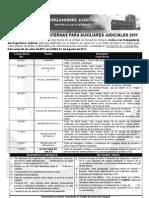 Convocatoria Anual Judicial 2011[1]