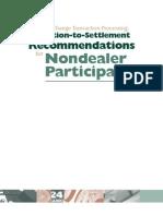 Non Dealer Guidelines