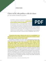 Codato & Perissinotto - Por uma Análise Societalista da Política
