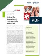 Griaule Fingerprint SDK 2009 Executive Overview