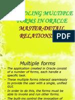 Master Detail Relationships
