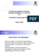 Delta Traning Document for PP