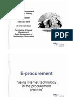 2011-2012 Lecture 12 Electronic Procurement (EUR)