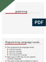 Java Programming 2007