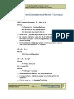 Project Management Formulas