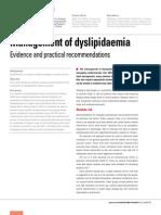manejo de dislipidemia