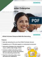 HiPath ProCenter Enterprise V7-0 Multi-Site Networking
