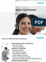 HiPath ProCenter V7-0 Call Director