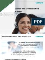 HiPath ProCenter V7-0 Presence and Collaboration