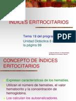 INDICE ERITROCITARIO