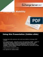Exchange Server 2007 Mobility