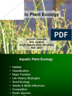 Aquatic Plant Ecology