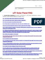 Ever Bright Do It Yourself DIY Solar FAQ