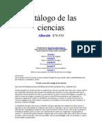 Fil - Alfarabi - Catalogo de Las Ciencias