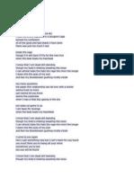 One Ok Rock Lyrics