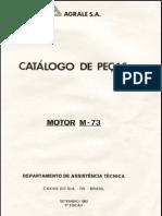 Catologo de Peças de Motor M73