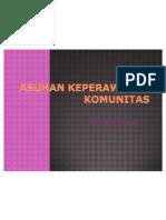 ASUHAN KEPERAWATAN KOMUNITAS