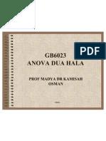 ANOVA 2-way