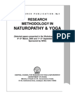 Traditional Medicine Research Methodology in Naturopathy & Yoga - Copy