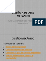 DISEÑO A DETALLE