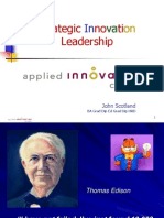 Strategic Innovation Leadership - DF - Perth