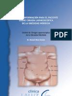 Guía de información para el paciente sobre cirugía laparoscópica de la obesidad mórbida