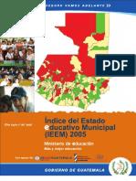 Indice Estado Educativo Municipal (Guatemala 2005)
