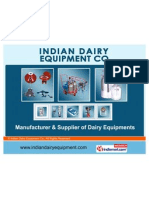 Indian Dairy Equipment Co. Delhi India