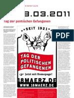 18.03.2011 - Tag der politischen Gefangenen