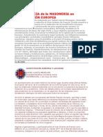 La cia de La Masoneria en La Constitución Europea - Laicidad vs Cristianismo