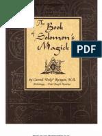 Poke Runyon - Book of Solomons Magick