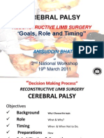 Cerebral Palsy 2nd National Workshop 2011 Karachi Pakistan
