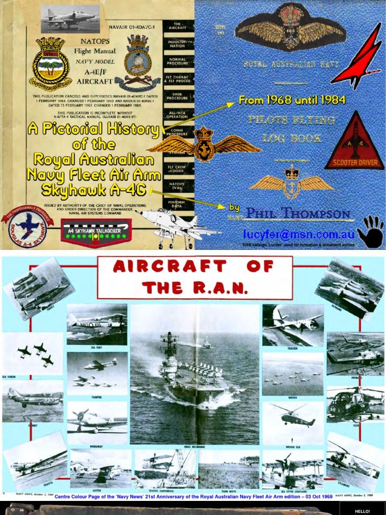 01 Part 50mb Ran Faa a4g Skyhawk   Naval Warfare   Military