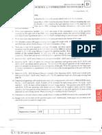 GATE Question Paper - CS 2011