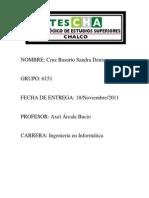 Ejercicios de Clases. Cruz Basurto