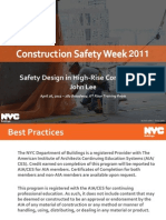 Safety Design in Highrise Construction