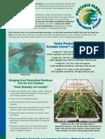 Portable Farms(TM) Aquaponics Systems