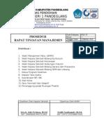 Pos_7. Prosedur Rapat Tinjauan Manajemen