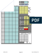Line Balancing Sheet